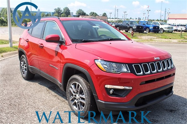 New 2017 Jeep Compass Latitude Sport Utility in Madisonville 5899